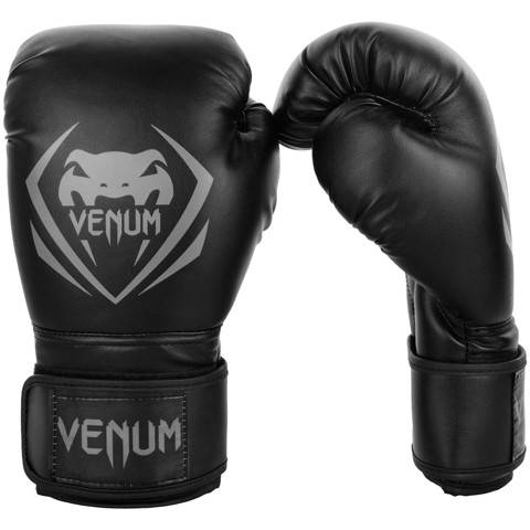 GĂNG TAY VENUM CONTENDER BOXING GLOVES - BLACK/GREY