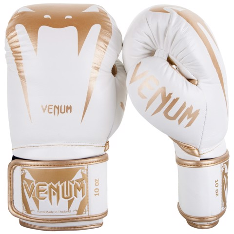 GĂNG TAY VENUM GIANT 3.0 BOXING GLOVES - WHITE/GOLD