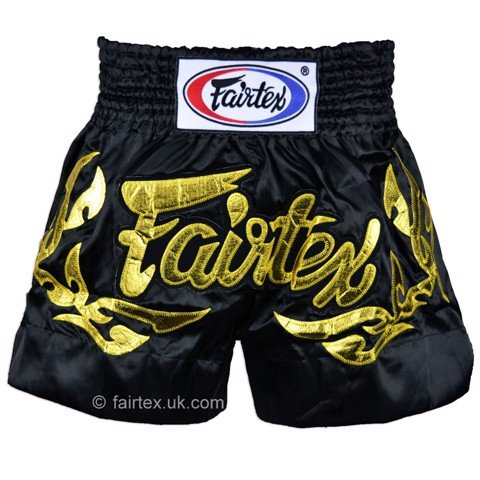 QUẦN FAIRTEX ETERNAL GOLD MUAY THAI SHORT