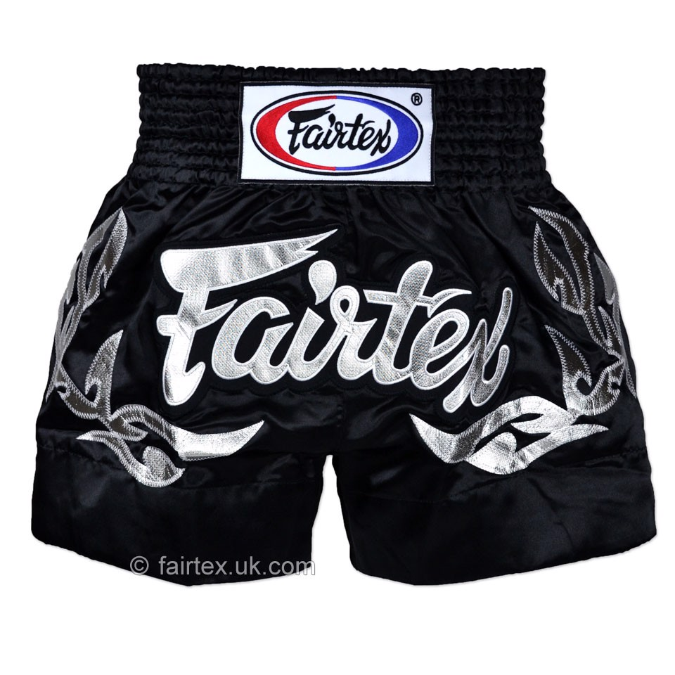 QUẦN FAIRTEX ETERNAL SILVER MUAY THAI SHORT