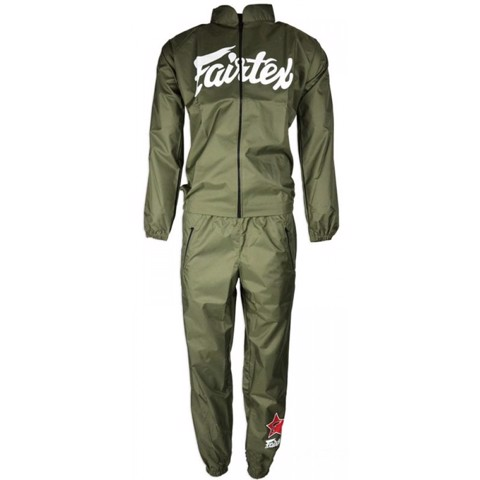 ĐỒ ÉP CÂN FAIRTEX VS2 VINYL SWEAT SUIT - GREEN