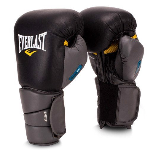 GĂNG TAY EVERLAST PROTEX3 EVERGEL HOOK & LOOP BOXING GLOVES - LEATHER