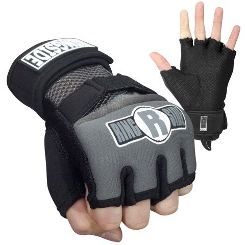 BĂNG TAY XỎ RINGSIDE GEL WRAPS - BLACK/GREY