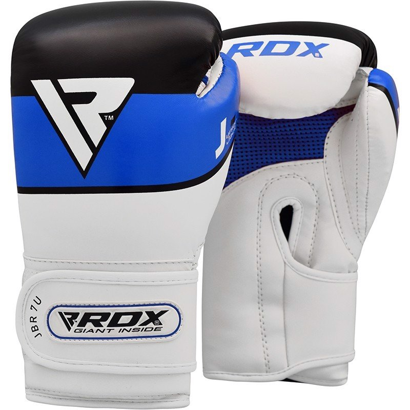 GĂNG TAY RDX JBR7 6OZ KIDS BOXING GLOVES - BLUE