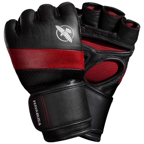 GĂNG TAY HAYABUSA T3 MMA GLOVES - BLACK/RED