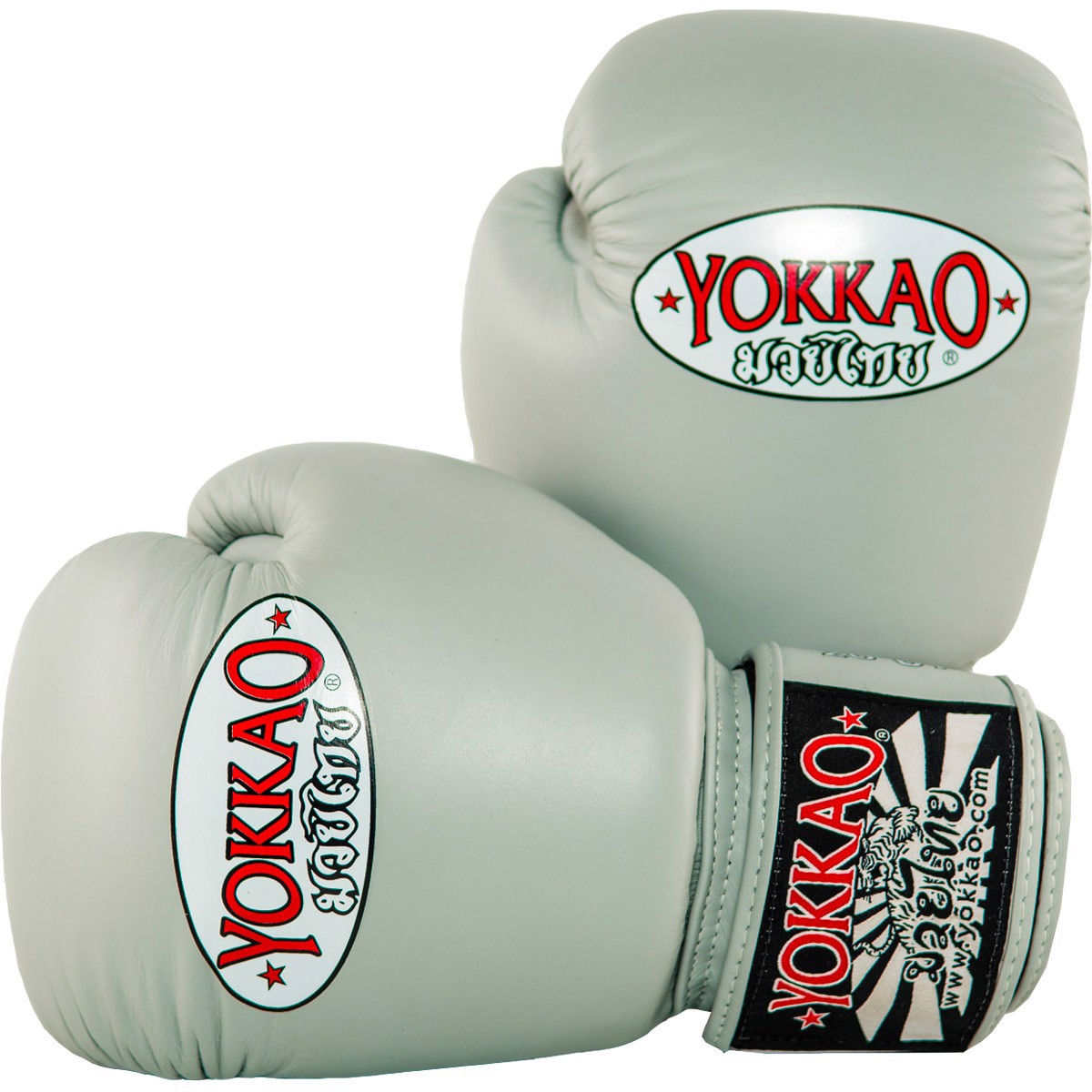 GĂNG TAY YOKKAO MATRIX MUAY THAI & BOXING GLOVES - GREY