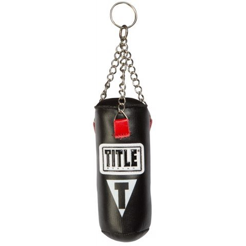 MÓC KHÓA TITLE MINI HEAVY BAG KEYRING