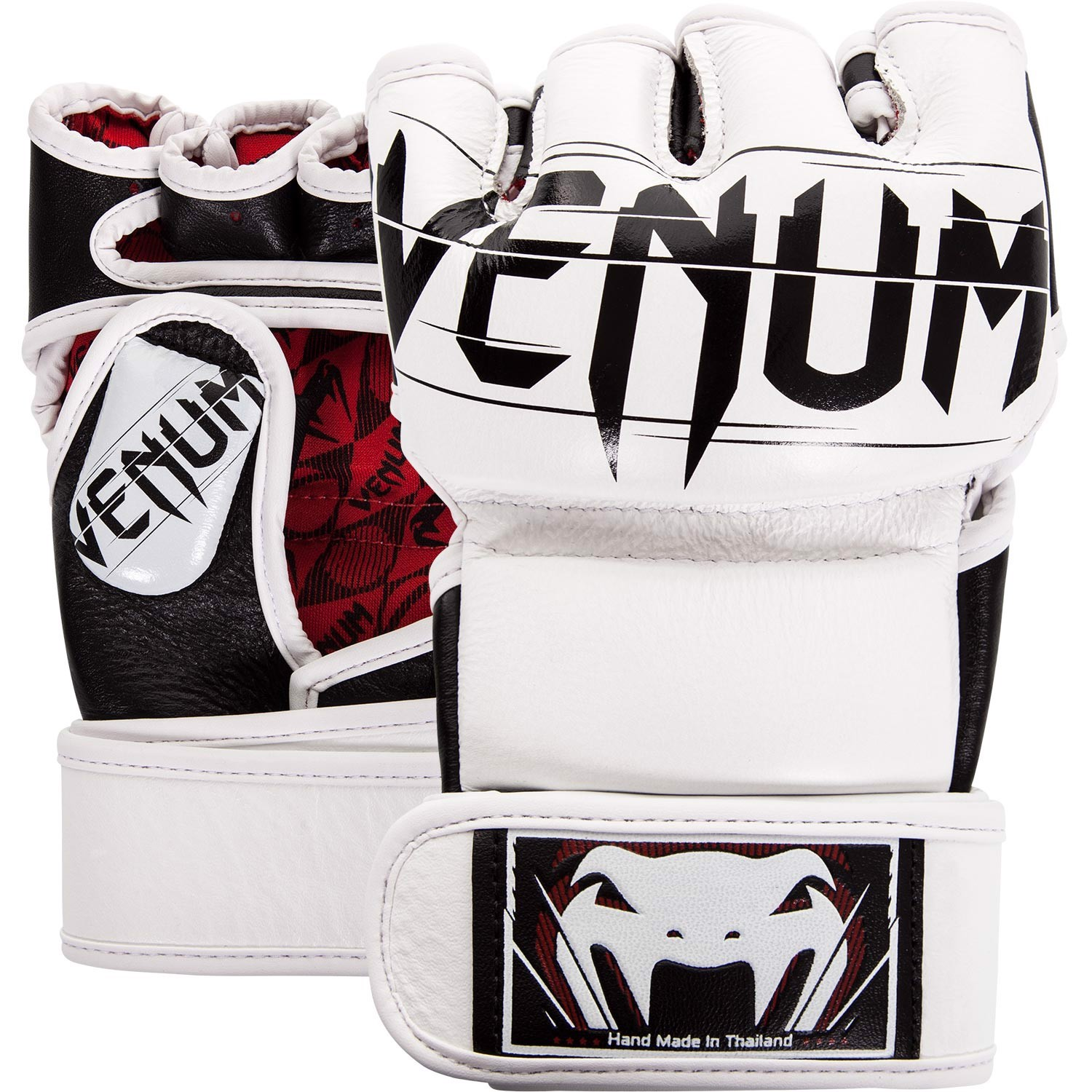 GĂNG TAY VENUM UNDISPUTED 2.0 MMA GLOVES - WHITE