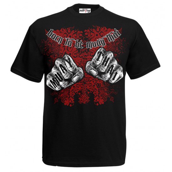 ÁO BORN TO BE MUAY THAI T-SHIRT MT-8005
