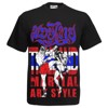 ÁO BORN TO BE MUAY THAI T-SHIRT MT-8017