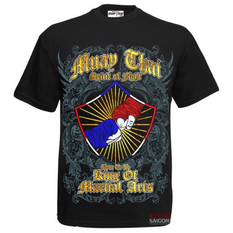 ÁO BORN TO BE MUAY THAI T-SHIRT MT-8041