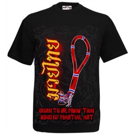 ÁO BORN TO BE MUAY THAI T-SHIRT MT-8046