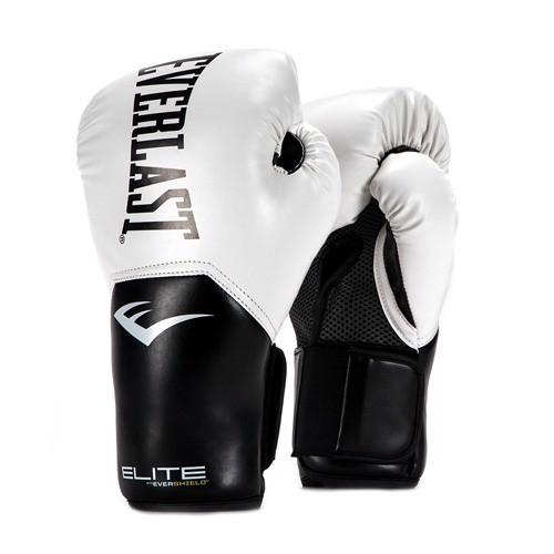 GĂNG TAY EVERLAST ELITE PROSTYLE TRAINING GLOVES - WHITE