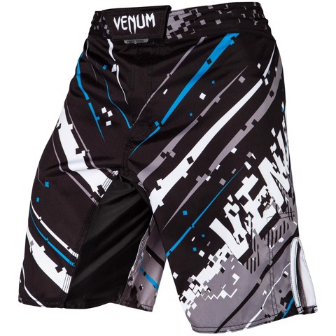QUẦN MMA VENUM PIXEL FIGHT SHORTS - BLACK/BLUE