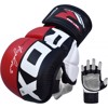 GĂNG TAY MMA RDX MAYA HIDE LEATHER POWER FIGHTER TRAINING GLOVES