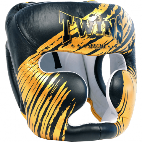 TWINS CLAW HEAD GUARD - BLACK/GOLD
