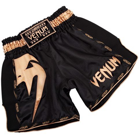 QUẦN VENUM GIANT MUAY THAI SHORTS - BLACK/GOLD
