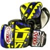 GĂNG TAY YOKKAO SICK MUAY THAI & BOXING GLOVES - VIOLET/YELLOW
