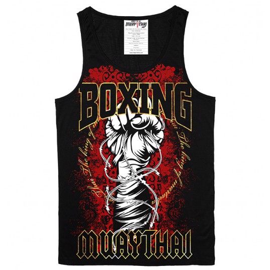 ÁO BORN TO BE MUAY THAI TANK TOP SL-8002
