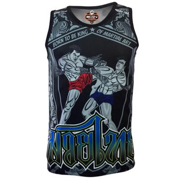 ÁO BORN TO BE MUAY THAI TANK TOP SVMT-09