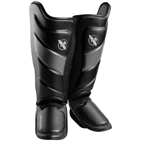 BẢO HỘ CHÂN HAYABUSA T3 STRIKING SHIN GUARDS - BLACK/GREY