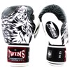 GĂNG TAY TWINS FBGV-50 VELCRO GLOVES (THAILAND LEATHER 100%) - WHITE/BLACK