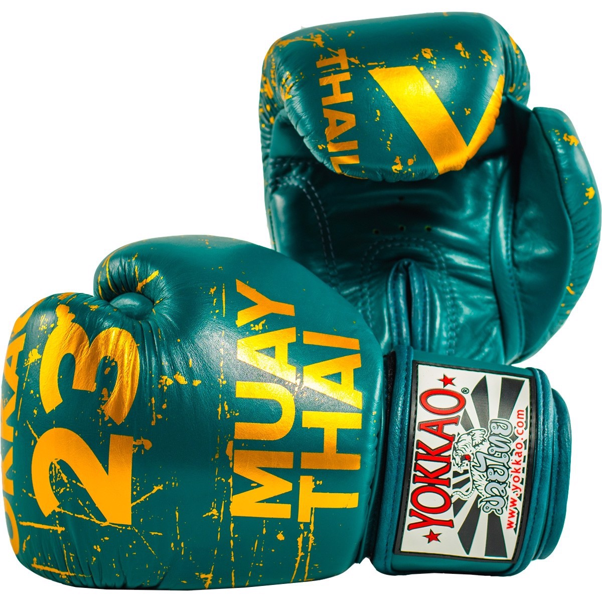 GĂNG TAY YOKKAO URBAN MUAY THAI & BOXING GLOVES - PETROLEUM