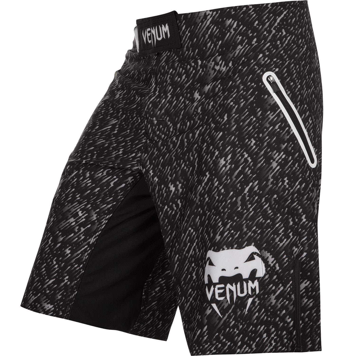 QUẦN VENUM NOISE MMA FIGHT SHORTS - BLACK/WHITE