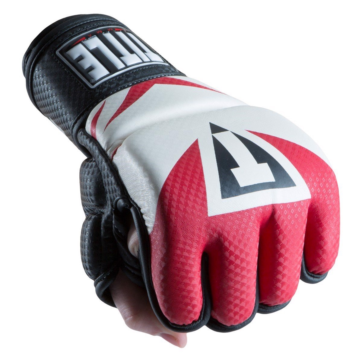 GĂNG TAY TITLE MMA COMMAND TRAINING GLOVES - RED/WHITE