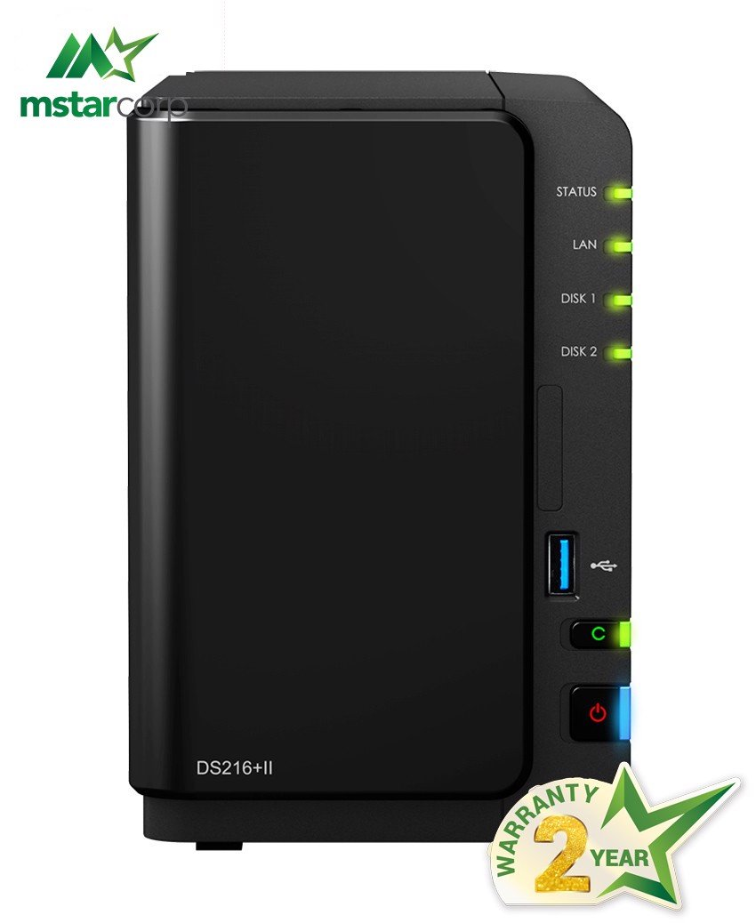 NAS Synology DS216+ II