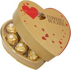 Socola Ferrero Rocher Heart 10 Pieces 125g - Valentine