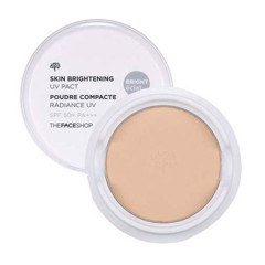 Phấn Phủ Nén The Face Shop Skin Brightening UV Pact SPF 50+, PA+++ V201
