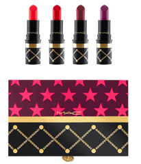 GIFTSET MAC NUTCRACKER SWEET RED LIPSTICK KIT
