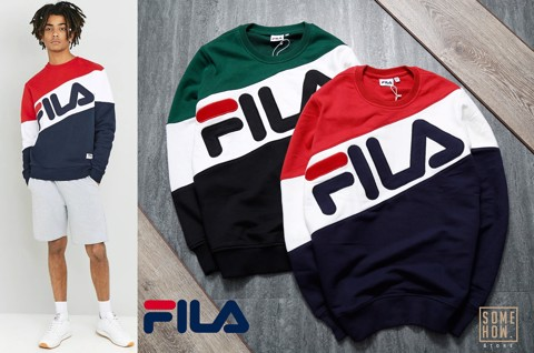 Sweater Fila Chéo