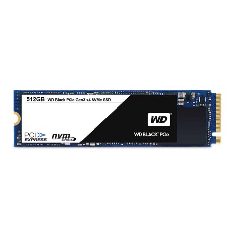 Western Digital Black PCIe SSD M.2 2280 512G 2050/800 MB/s