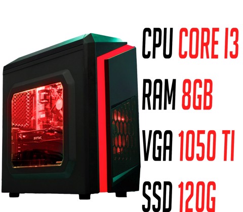 GEARVN Online Gaming PC 04 | i3 / 8G / 1050 Ti / SSD
