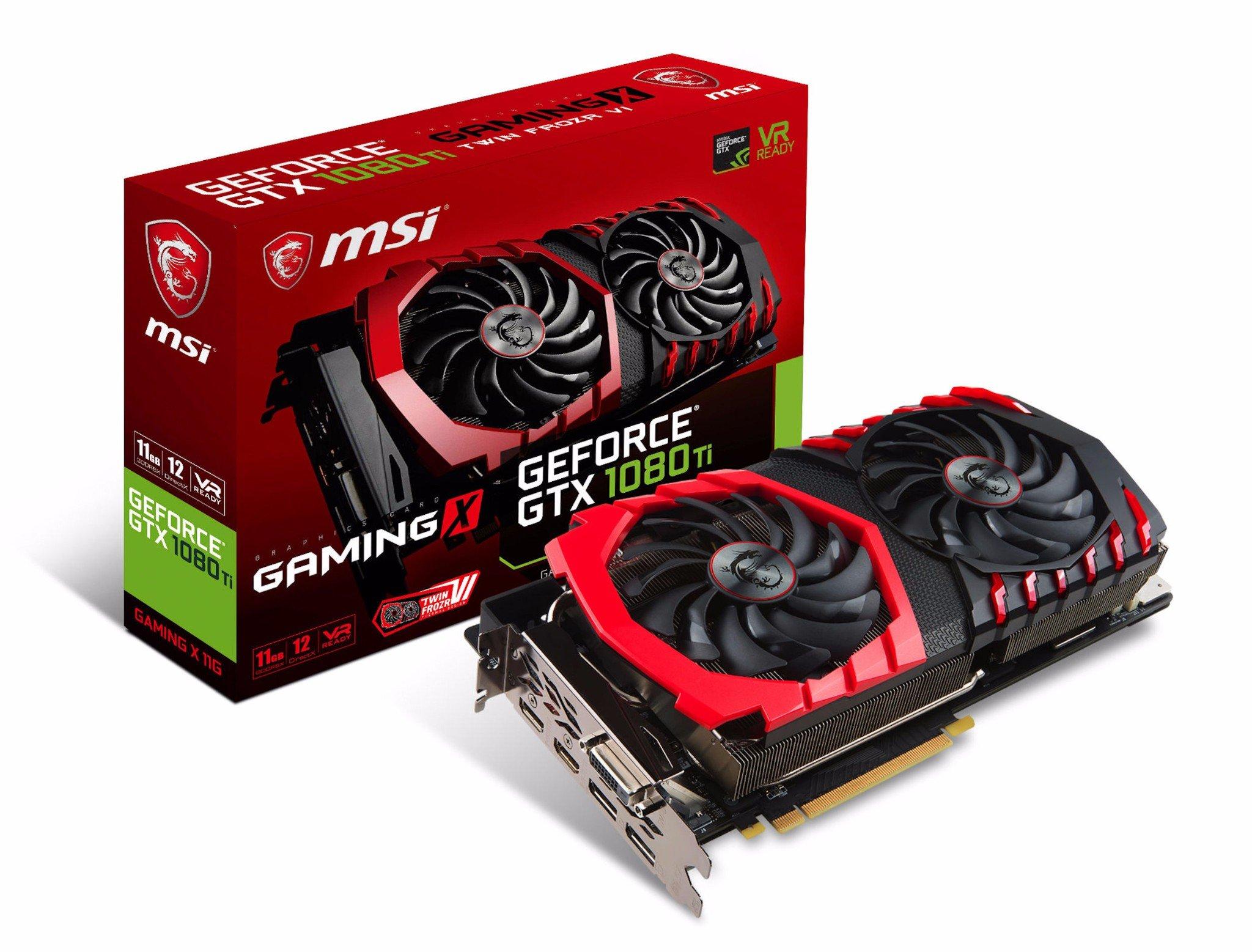 MSI GTX 1080 TI GAMING X 11G GDDR5X
