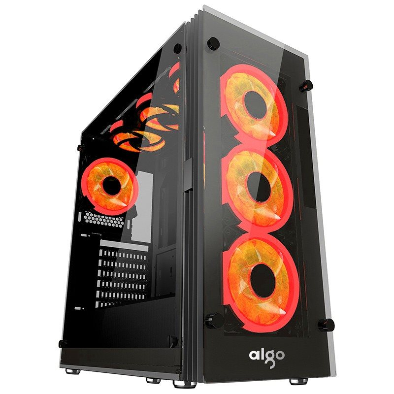 CASE AIGO ATLANTIS (3 RED RING FAN)