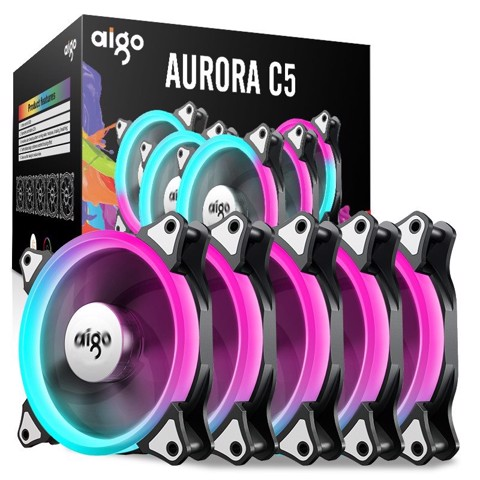 Kit Fan AIGO AURORA C5 (5PCS/PACK)