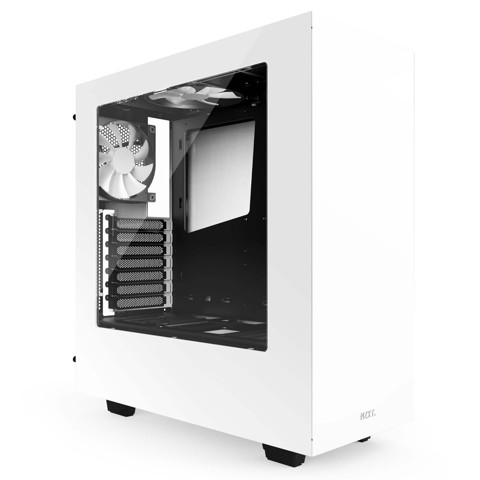 ( Mid-Tower ) NZXT S340 White