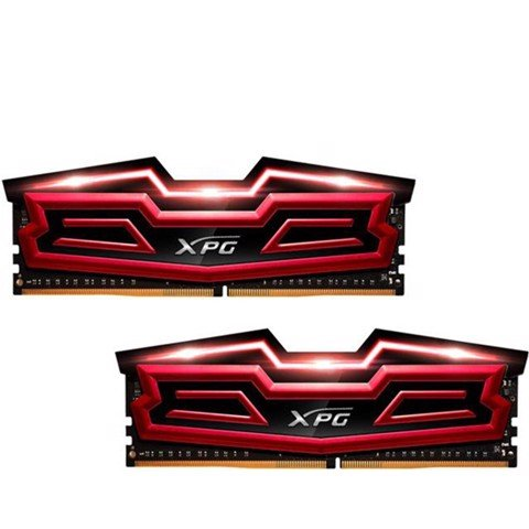 (16G DDR4 2x8G 2400 ) ADATA XPG Dazzle LED RED