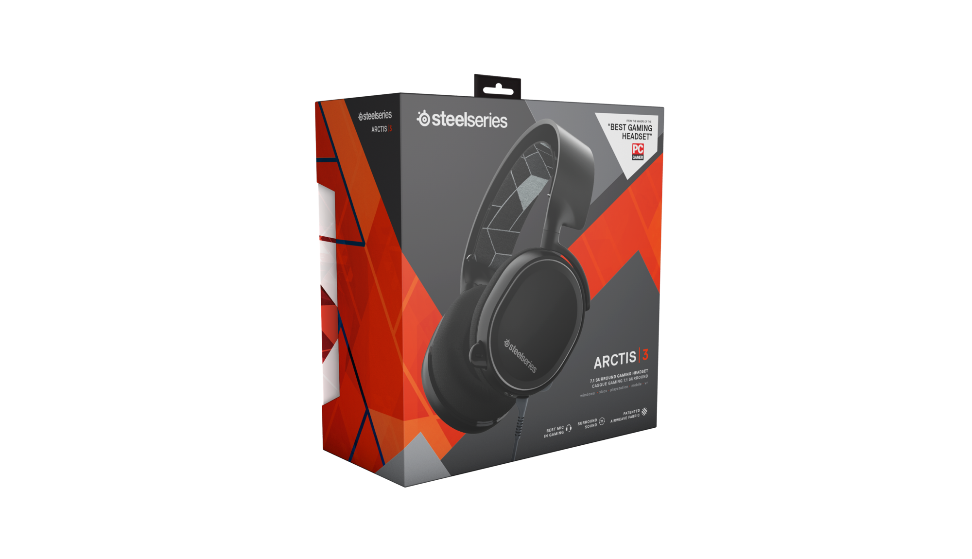 SteelSeries Arctic 3 Black Edition