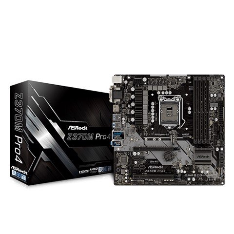 ASROCK Z370M PRO4 LGA1151V2 Coffee Lake