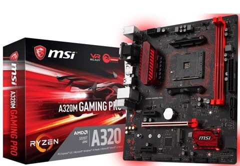 Mainboard MSI A320M GAMING PRO Socket AM4