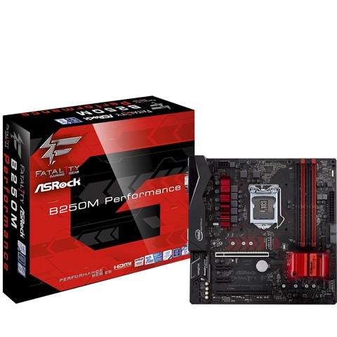 Asrock Fatal1ty B250M Performance - Tặng code game WOWS