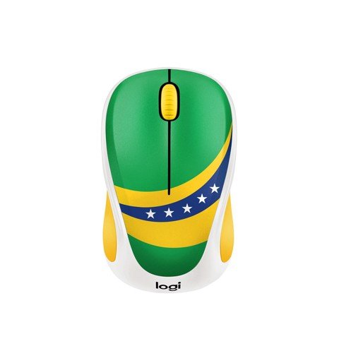 Logitech M238 Wireless - World Cup Edition - Brazil