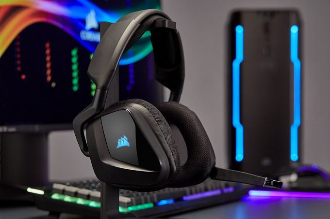 Corsair VOID Pro Wireless Carbon RGB