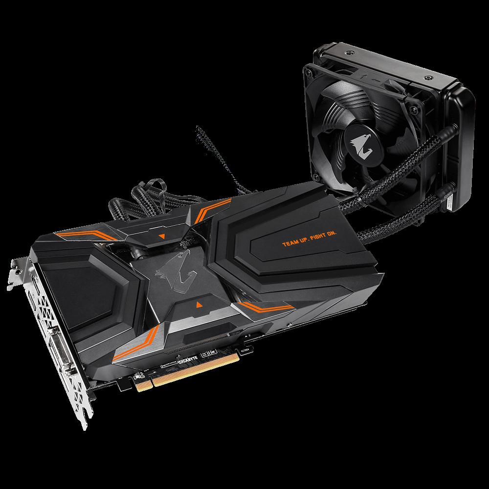 Gigabyte AORUS GeForce® GTX 1080 Ti Waterforce Xtreme Edition 11G