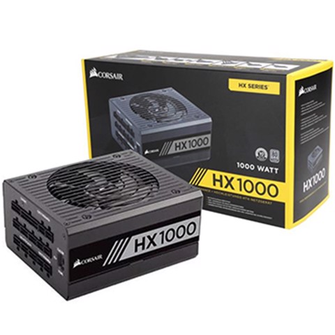 ( 1000W Platinum Modular) Corsair HX1000 80 PLUS® Platinum