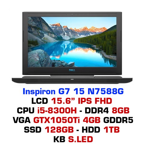 Laptop Gaming DELL Inspiron G7 15 N7588G